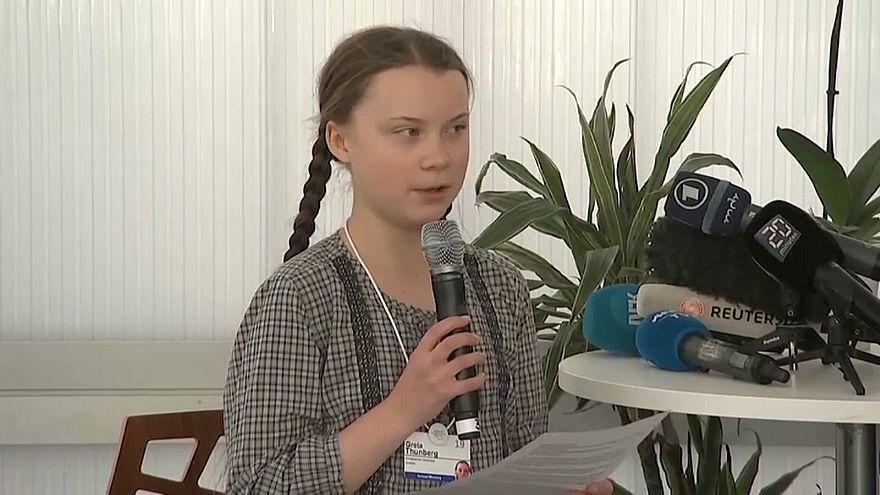 دافوس: مراهقة سويدية تشن حملة من أجل المناخ وتدعو للحفاظ على البيئة