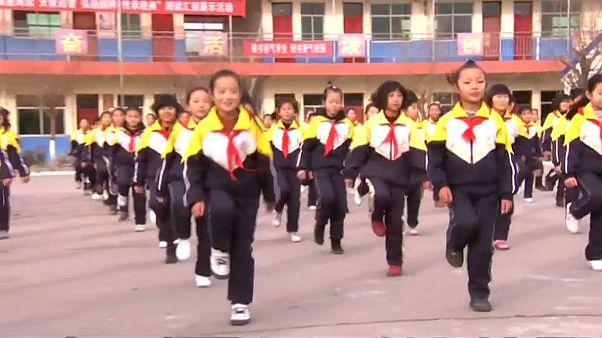 چین؛ رقص به جای ورزش صبحگاهی