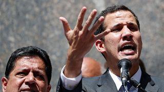Guaidó urges Venezuela's military to recognise him as interim president