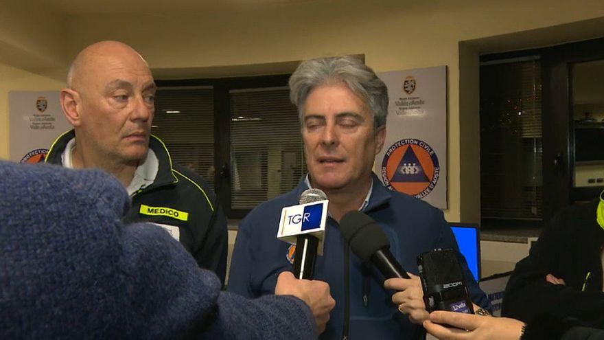 Alpen: 5 Tote bei Flugzeug-Kollision mit Hubschrauber