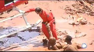 Tote und Vermisste bei Dammbruch in Brasilien