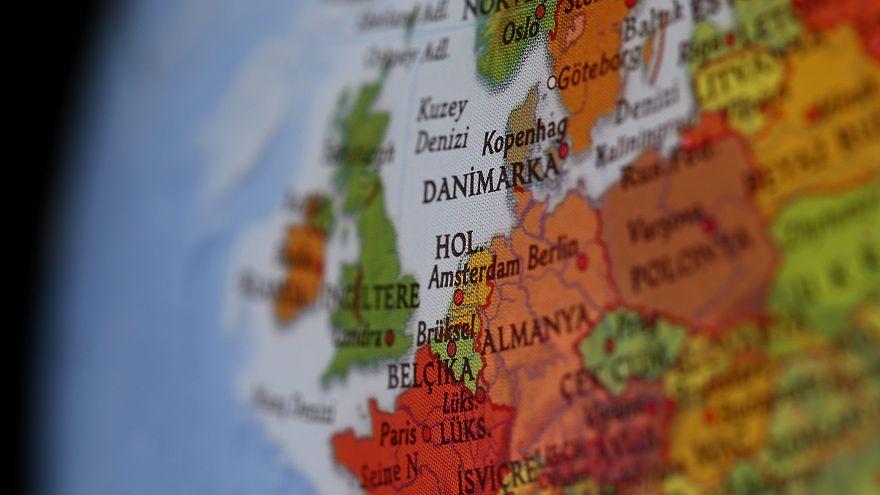Avrupa Birliği haritası