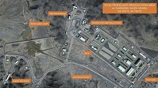 صور أقمار اصطناعية تظهر منشأة سعودية للصواريخ الباليستية قرب الرياض