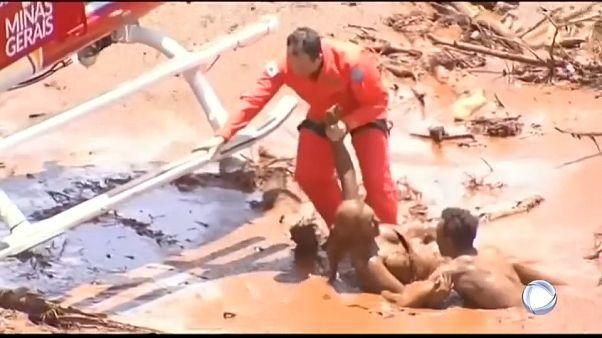 Brezilya'da maden atık barajı çöktü: 9 ölü ve yüzlerce kayıp var