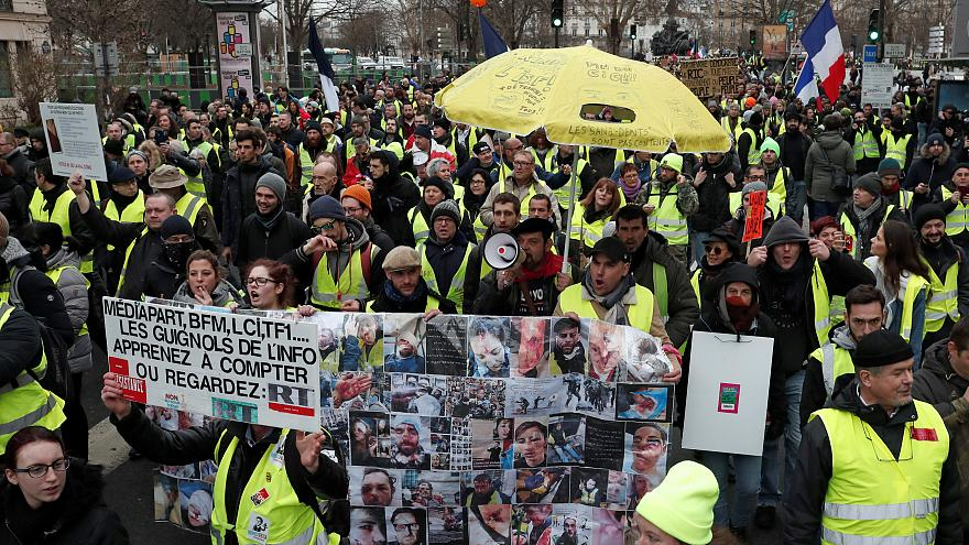 Undécimo sábado consecutivo de protestas en Francia