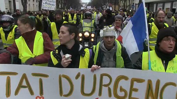 """زخم في مظاهرات """"السترات الصفراء"""" وانقسام داخل الحركة بسبب الانتخابات الأوروبية"""