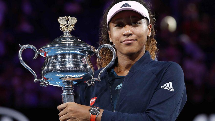 Avustralya Açık Tenis Turnuvası'nın şampiyonu Japon Osaka dünya bir numarası oldu