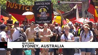 هزاران شهروند استرالیایی روز ملی این کشور را روز اشغال خواندند