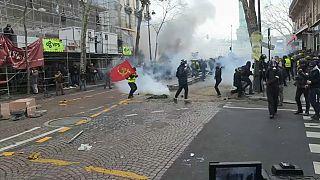 یازدهمین تظاهرات جلیقه زردها؛ هزاران نفر به خیابانها آمدند