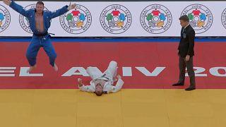 Tel Aviv Judo Grand Prix'te heyecan doruktaydı