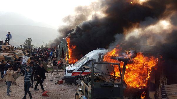 Duas mortes em invasão a acampamento militar turco