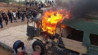 Νεκροί Κούρδοι από πυρά Τούρκων στρατιωτών