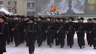 Rusia conmemora los 75 años del fin del cerco nazi de Leningrado
