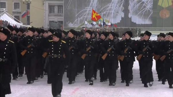 Russia marks 75 years since the end of the Leningrad siege