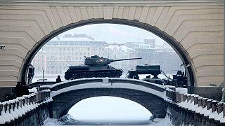 مراسم یادبود هفتادوپنجمین سالگرد آزادسازی لنینگراد