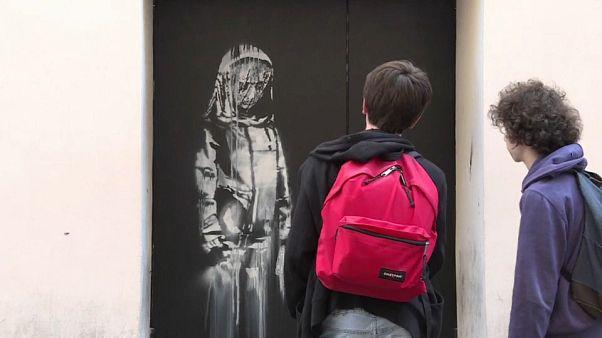 سرقة جدارية تحيي ذكرى هجوم باتاكلان في باريس