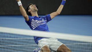Australian Open: Novak Djokovics 7. sikere