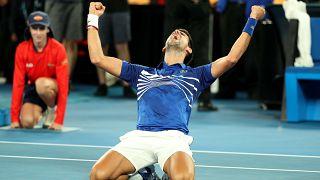 Avustralya Açık Tenis Turnuvası'nda Djokovic şampiyon oldu