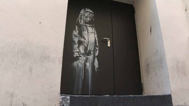 Paris: Banksy artwork stolen