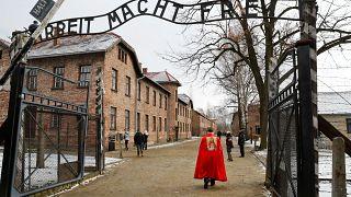 74e anniversaire de la libération d'Auschwitz