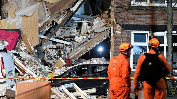 L'Aja, fuga di gas ed esplosione: crolla un appartamento