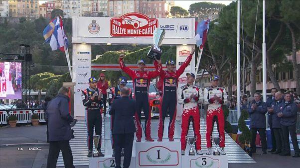 Sebastien Ogier gewinnt Rallye Monte-Carlo