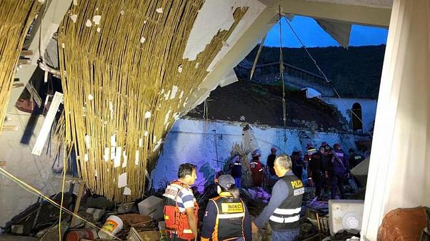 Düğünde duvar çöktü: 15 ölü, 5'i ağır 34 yaralı