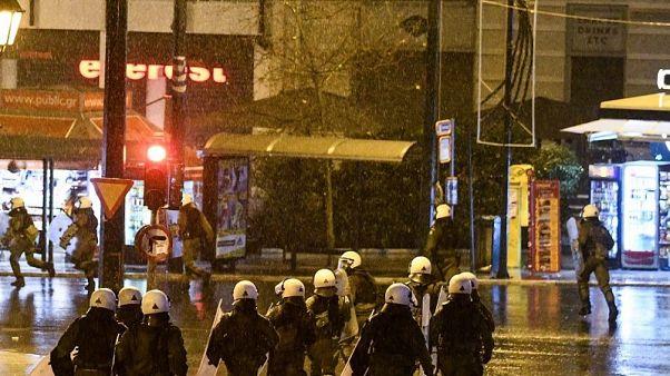 Ένταση στη Θεσσαλονίκη με συνθήματα κατά της Συμφωνίας των Πρεσπών