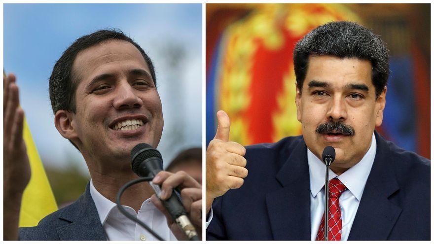 Video: Venezuela'da Maduro ve Guaido orduyu kendi yanına çekmek istiyor