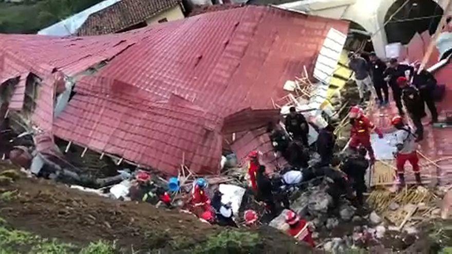 Peru': crolla tetto di un hotel, 15 morti e 29 feriti