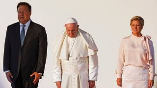 A félelem és a kirekesztés ellen szólított fel a pápa
