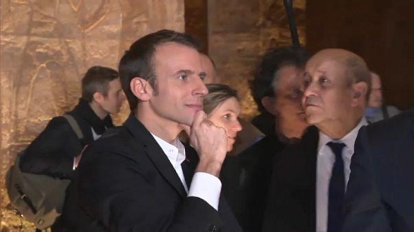 Emmanuel Macron reçu au Caire, une visite délicate, sous pression des ONG