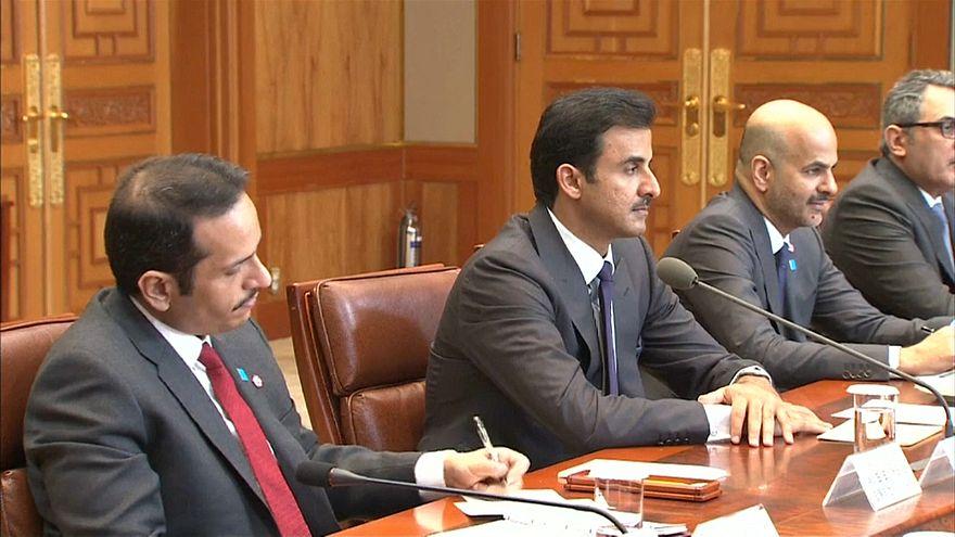 فيديو: أمير قطر في سيول لتوقيع اتفاقيات تعاون