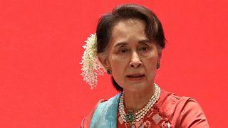 Myanmar lideri Aung San Suu Kyi