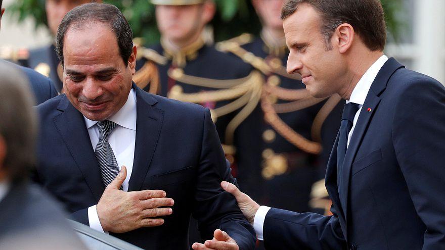Staatsbesuch in Ägypten: Macron will millionenschwere Verträge unterzeichnen