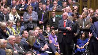 Tulip Siddiq during the vote on Theresa May's Brexit bill on January 15
