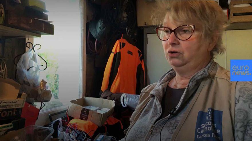 "Brigitte, la ""madre"" de los migrantes de la jungla de Calais"
