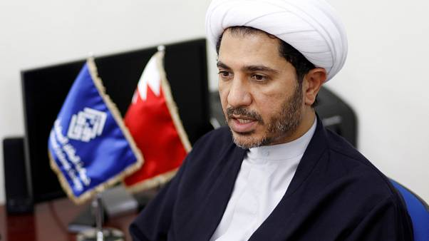 الأمين العام لجمعية الوفاق المعارضة الشيخ علي سلمان