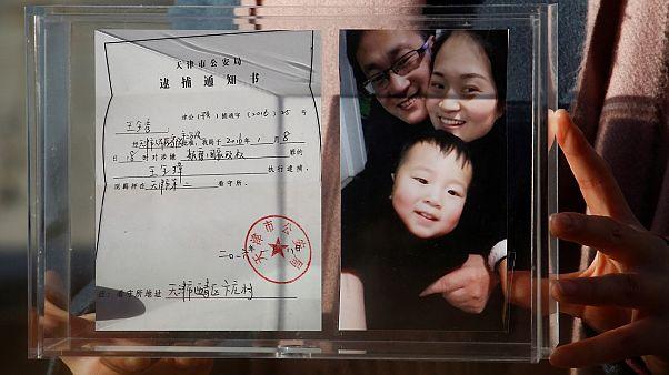 Le combat sans fin de la Chinoise Li Wenzu pour son mari emprisonné