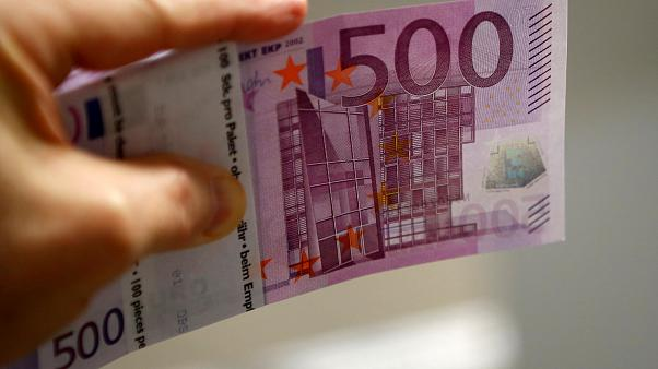 Cash out: Eurozone banks stop issuing €500 note in fight against crime
