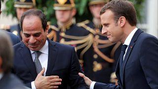 Macron'dan Mısır'a uyarı: İstikrar ve güvenlik endişesi insan haklarından ayrı tutulamaz