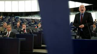 Le Premier vice-président de la Commission européenne Frans Timmermans