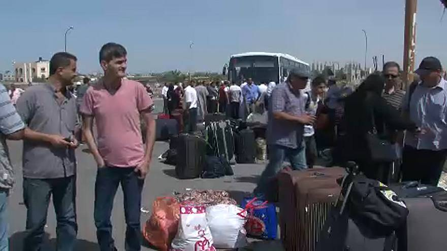 Jovens querem sair de Gaza