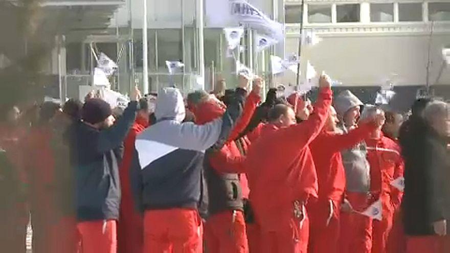 A győri sztrájk miatt megbénult az Audi ingolstadti üzeme