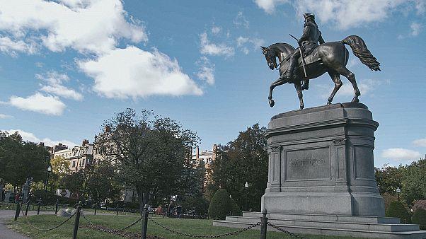 Siguiendo las huellas de la historia de EEUU en Boston