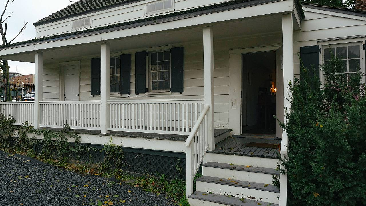 Visiting Edgar Allan Poe Cottage, the final home of a 'sad soul' in the Bronx