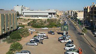 صورة لشارع من مدينة سبها