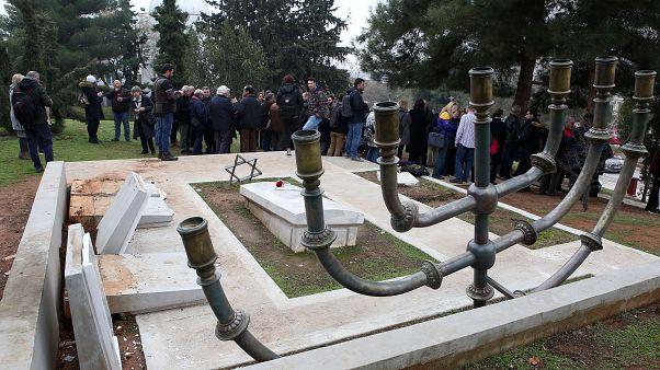 Διαμαρτυρία για τον βανδαλισμό του εβραϊκού μνημείου του ΑΠΘ