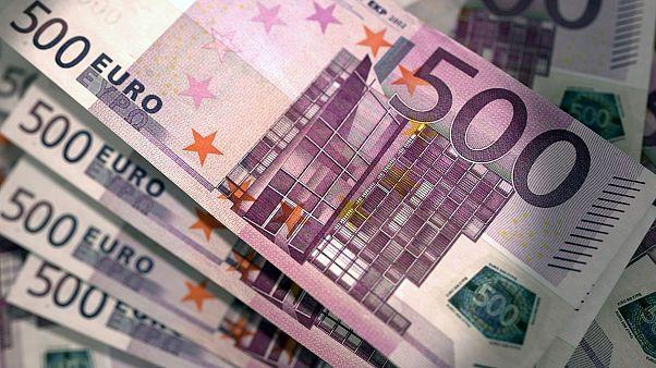 أوروبا تعلن إنهاء العمل بالورقة النقدية من فئة 500 يورو