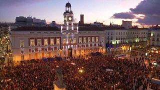 Los taxistas madrileños siguen adelante con la huelga indefinida
